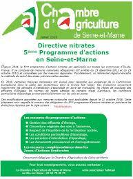 chambre d agriculture seine et marne directive nitrates