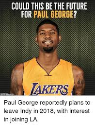 Paul George Memes - could this be the future for paul george akers sports paul george