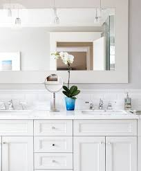 Subway Tile Backsplash Bathroom - 17 best images about master bath renovation on pinterest grey