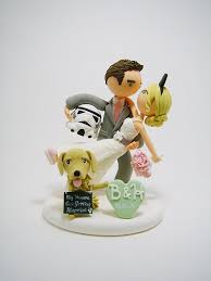 wars wedding cake topper 27 magical disney wedding cake toppers this fairy tale