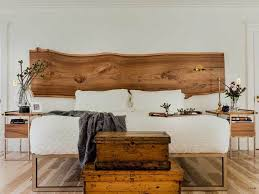 Bed Headboard Ideas Brilliant Best 25 Wood Headboard Ideas On Pinterest Reclaimed