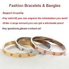 bracelet love price images Love bracelet bangles screw bracelet stainless steel bangle gold jpg