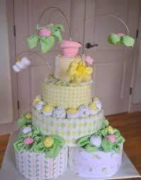 diaper cake tutorial baby shower games pinterest diaper
