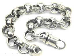 mens silver solid bracelet images Mens 8 inch sterling silver belcher bracelet for sale newburysonline jpg