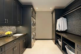 under cabinet recessed lighting furniture luxury transitional laundry room design with tile floor