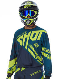 motocross jersey printing shot navy lime 2016 raceway contact mx jersey shot