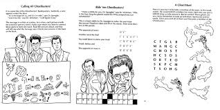 ghostbusters haunted house activity book download