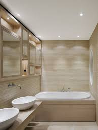 bathroom endearing simple tiny decor with light plywood bathroom endearing simple tiny decor with light plywood walls also white sink vessels