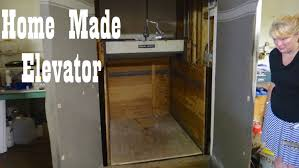 antique home made freight elevator hillsville youtube house