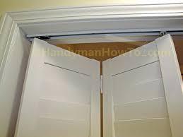 Installing A Closet Door Closet Closet Door Jamb Switch How To Install A Bi Fold Closet