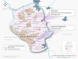 Southern Germany Map by Regional Maps Candid Wines