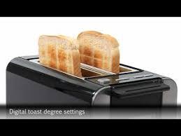 Bosch Toasters Bosch Tat8613gb Toaster Youtube