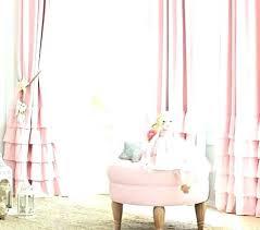 light pink ruffle curtains pink ruffle shower curtain tbya co
