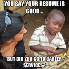 Career Meme - hm oakland university career services