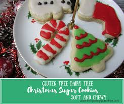 christmas sugar cookies gluten free and dairy free living freely