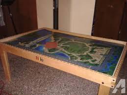thomas the tank activity table octagon train table classifieds buy sell octagon train table