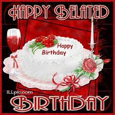 58 best happy belated birthday images on birthday