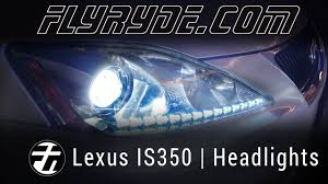 lexus is350 jdm fog lights lexus is250 is350 switchback led drl strip headlights youtube