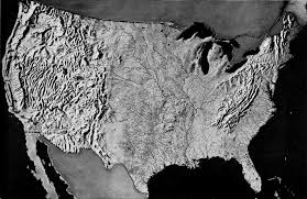 us relief map national park service recreational use of land in the united