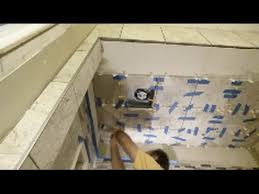 Installing Ceiling Tiles by How To Tile A Shower Ceiling Part 3 Installing The Tiles On A