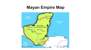 mayan empire map aztec incan and mayan ppt