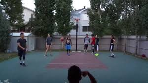 calgary backyard basketball game 8 09 07 17 youtube