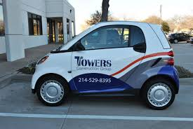 white wrapped cars smart car and chevy express van partial wraps car wrap city