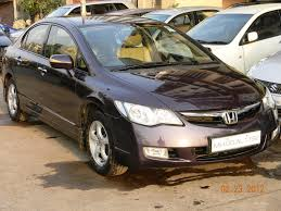Honda Civic India Interior Buy And Sale Of Used Cars Or Second Hand Cars In India Mumbai
