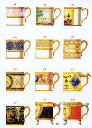 coffee cups cross stitch kit by thea gouverneur