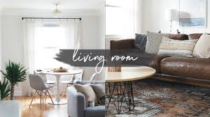 Dining Living Room by Our Living Room U0026 Dining Room Tour Youtube