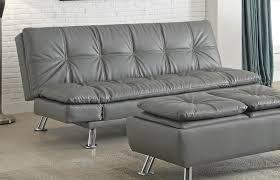 sofa interesting grey leather reclining sofa elegant lean