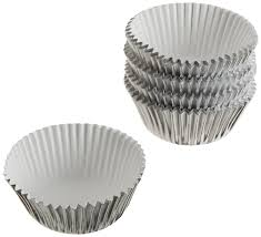 foil candy cups wilton silver foil baking cups mini 80 count