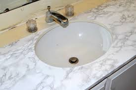 Bathroom Sink Makeover - master bathroom marble vanity makeover a spark of creativity