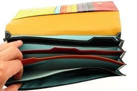 travel document holder images Leather travel wallet document holder passport tickets jpg