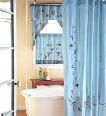 Bathroom Window Curtain Ideas Decorating Bathroom Curtain Ideas Fabulous Bathroom Window Valance Ideas