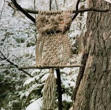 Macrame Home Decor by Macrame Owl Macrame Wall Hanging Home Decor