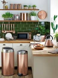 copper kitchen accessories at home interior designing