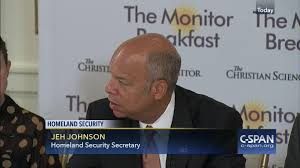 Who Is A Professional Secretary Homeland Security Secretary Jeh Johnson Speaks Christian Science