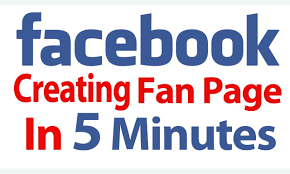 create facebook fan page how to create your facebook fan page in 5 minutes for photography