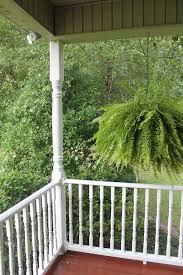vinyl porch posts color guard railing