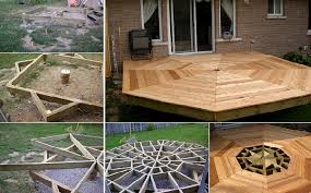 how to build an octagonal deck home design garden