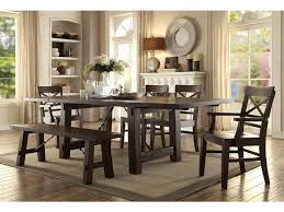 eci dining room trestle dining table 1475 05 trb goldsteins