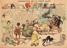 new yorker thanksgiving cartoon the yellow kid 1897