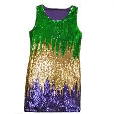 mardi gras attire for party mardi gras sequin party dress large mardigrasoutlet