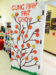 Chinese New Year Home Decoration Chinese New Year Classroom Door Bulletin Boards Pinterest