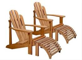 Adirondack Chair With Ottoman Adirondack Chair With Ottoman Is By Teak By