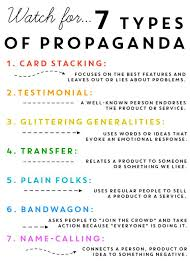 propaganda techniques worksheet answers worksheets releaseboard