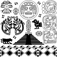 aztec clipart maya pencil and in color aztec clipart maya