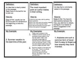 91 best main idea images on pinterest teaching reading guided