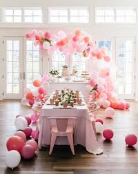 pink peonies blogger rachel parcell threw her two year old